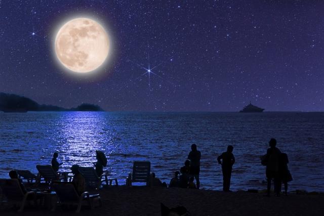亀崎の月を愛でる夕べ(半田市)